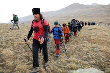 Ovit Dağı'na 'Cumhuriyet Tırmanışı'