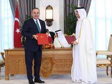 Katar'la 7 anlaşma imzalandı!
