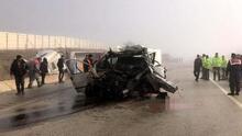 Kastamonu'da minibüs ve TIR çarpıştı: 3 ölü, 2 yaralı