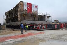 Hasankeyf'teki son eser Er-Rızk Camisi de taşındı