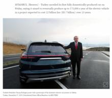Yerli otomobili dünya böyle gördü! Erdoğan meydan okudu