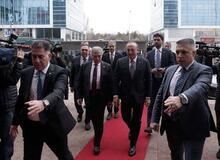 Çavuşoğlu'ndan muhalefete tezkere ziyareti