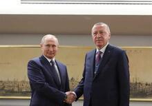 Cumhurbaşkanı Erdoğan-Putin zirvesinden fotoğraflar