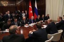 Berlin'de Cumhurbaşkanı Erdoğan-Putin görüşmesi