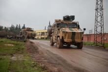 Hatay sınırına askeri araç sevkiyatı!