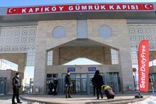 Van Kapıköy Gümrük Kapısı'nda 'koronavirüs' önlemleri