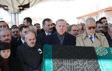 Eski bakanın acı günü! Törene Cumhurbaşkanı Erdoğan da katıldı