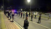 Antalya'da dansözlü drift partisine polis baskını: 51 kişiye ceza