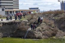 Su dolu inşaat çukuruna düşen çocuk hayatını kaybetti