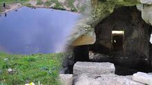 Dipsiz Göl'den sonra şimdi de Yeşildere Kilisesi! Talan ettiler