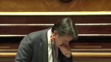 İtalya Başbakanı Conte'nin öksürük krizine girdi!