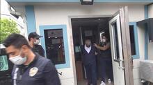 Esenyurt'ta ofise sahte seyahat belgesi baskını