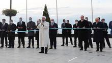 Son dakika...  'Demokrasi ve Özgürlükler Adası' açıldı! İşte ilk kareler