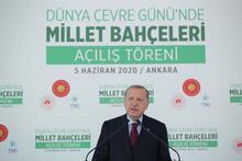 Cumhurbaşkanı Erdoğan: 81 ilimize 81 milyon metrekare millet bahçesi kazandırma hedefimize yaklaşıyoruz
