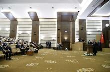 Cumhurbaşkanı Erdoğan AYM yeni üyesi Basri Bağcı'nın yemin törenine katıldı