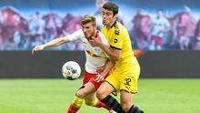RB Leipzig - Borussia Dortmund maçından kareler