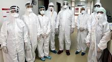 DHA görüntüledi! Corona virüs savaşçıları...