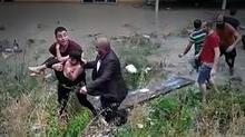 Esenyurt'ta çocuk böyle kurtarıldı