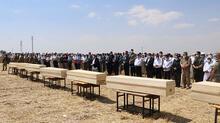 Konya'daki kazada ölen 7 kişi Şanlıurfa'da defnedildi