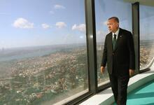 Cumhurbaşkanı Erdoğan Çamlıca Kulesi'ni inceledi