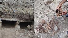 Yer: Tokat... İnsan iskeletleri çıkarıldı