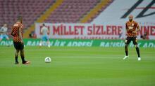 Galatasaray-Trabzonspor maçından kareler...
