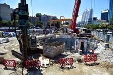 Yer altı şehrini andırıyor! İstanbul Havalimanı Metro Hattı'nın yüzde 71'i tamamlandı