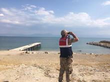 Van Gölü'nde batan tekneden ilk görüntü!
