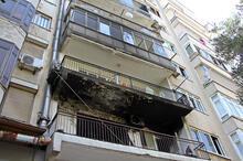 Üst üste iki gün evinde yangın çıkan genç, bina sakinleri tarafından dövüldü