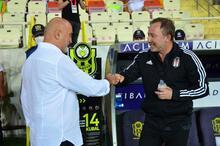 Yeni Malatyaspor - Beşiktaş maçında kareler