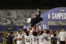 Real Madrid şampiyonluğu böyle kutladı!
