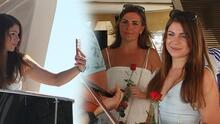Antalya'daki lüks tekneler sezonu açtı! Ukraynalı turistler böyle karşılandı