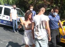 İstanbul'un göbeğinde şoke eden görüntü! Sevgilisini vermedi