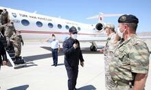 Son dakika... Bakan Akar ve komutanlar Irak sınırında