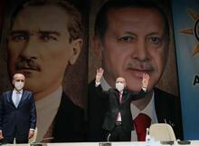 AK Parti Genişletilmiş İl Başkanları Toplantısı'ndan görüntüler
