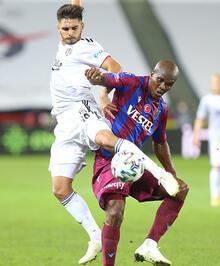 Trabzonspor - Beşiktaş maçından görüntüler!
