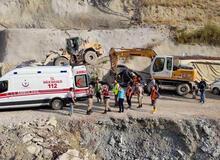 Kop Dağı Tüneli'nde patlama! 8 işçi kurtarıldı