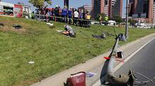 Bakırköy'deki kazadan ilk görüntüler!