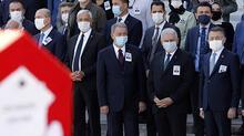 Eski Bakan Zeki Ergezen için TBMM'de Devlet Töreni düzenlendi