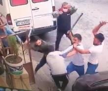 Avcılar'daki baltalı kavgandan dehşet veren görüntü!