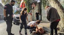Beşiktaş'ta şoke eden anlar! Ayılınca saldırmaya başladı