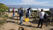 Manisa'da oluşan fay hattını incelediler! Flaş açıklama