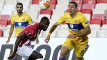 Sivasspor - Maccabi Tel-Aviv maçından kareler