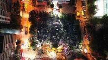 Son dakika: İzmir'de deprem! Deprem çalışmaları havadan görüntülendi...