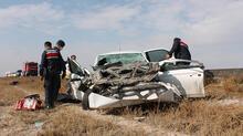 Aksaray'daki feci kazadan görüntüler