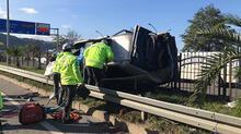 Trabzon'daki korkunç kazadan görüntüler