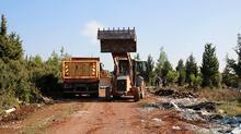 Yer: Antalya... Bölgeden 28 kamyon çöp çıktı