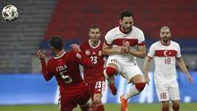 Macaristan - Türkiye maçından kareler...