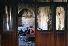 Siirt'te 130 yıllık camiyi ateşe verdiler!