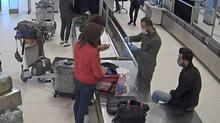 İstanbul Havalimanı'ndaki kaçak koronavirüs ilacı operasyonu kamerada